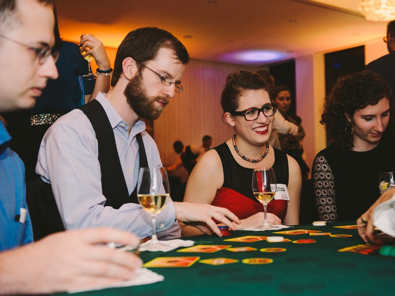 Slideshow: Young professionals gamble Hollywood-style at Houston