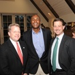 5 3211 David Robinson, from left, Gary Mosely and Scott Hill at the Reception Honoring Mayor for Arts Leadership February 2015