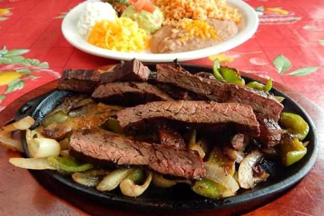Sylvia's Enchilada Kitchen Cooking Class: Grilling Beef Fajitas