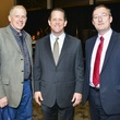 8 John Minge, from left, Jamey Rootes and Andrew Millar at Taste of the Texans November 2013