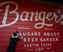 Banger's Sausage House & Beer Garden dog