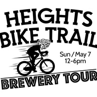 Eureka Heights, Holler, and Platypus Brewing present Heights Bike Trail Brewery Tour