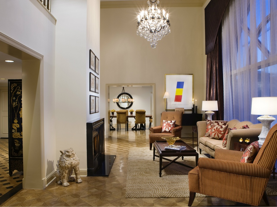 The Crescent Presidential Suite, The Crescent, Dallas, Hotels, Suites
