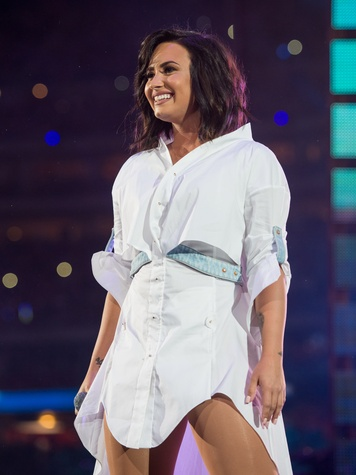 Demi Lovato Houston Rodeo 2017