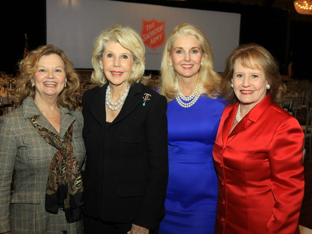 Ginger Sager, Sharon McCullough, Libby Hunt, and Dixey Arterburn, DTMG Luncheon