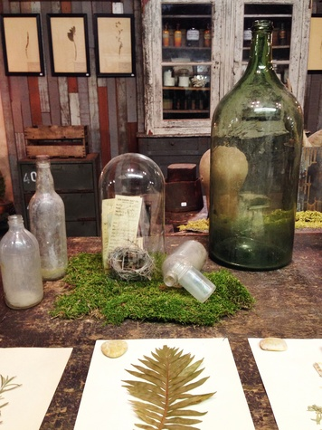 The Vintage Round Top Paige Hull green bottle March 2015