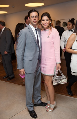 78 David and Estela Cockrell at the Blaffer Gala May 2014