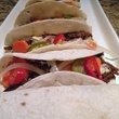Tacos from The Carillon at Dames Across Texas event