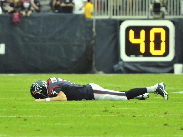 Case Keenum Texans down