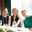 Lisa Holthouse, Stephanie Cockrell, Alexandra Knight at Adam Lippes luncheon