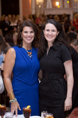 Lisa Malosky, left, and Liz Murray at the Small Steps Nurture & Nourish Luncheon September 2014