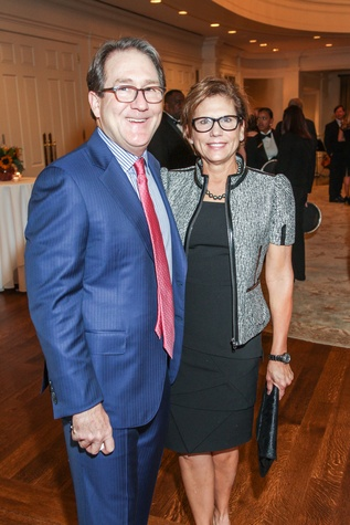 Bryan and Nancy Ruez at the Hospice Spirit Award dinner October 2014