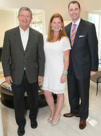 Mark Shank, Gillian Breidenbach, Crayton Webb, building hope celebration dinner