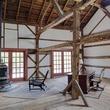On the Market Renee Zellweger 1774 house in Connecticut September 2014 barn interior