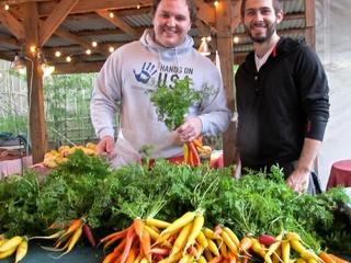 East Austin Urban Farm Tour participants