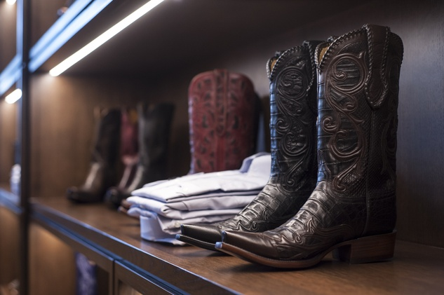 1 7536 Boots and shirts at the Lucchese Grand Opening February 2015