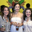 35 Dana Overcash, from left, Katie Richey and Haley Ray at the Houston Area Women's Center Young Leaders Independence Day Bash July 2014.