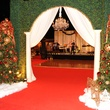 9 9103 Holiday decorations greet guests at the Theta Charity Antiques Show Preview Party November 2014