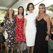 Martha Katherine Long; Jennifer Segal; Laura Arnold; Courtney Sarofim at Bayou Bend Oscar de la Renta
