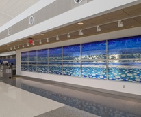 Libbie J. Masterson, Ethereal Sky, Hobby Airport art