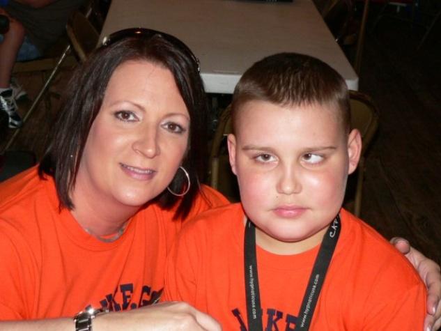 Austin Photo Set: News_shelley seale_children cancer awareness_August 2011