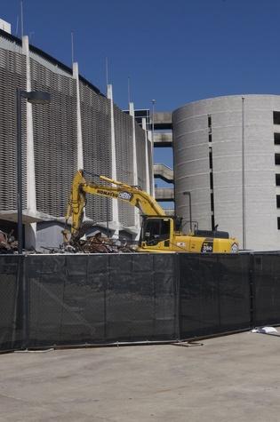 7 Astrodome exterior demolition October 2013