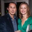 2 Cenk and Catherine Ozdogan at the Bruce Munro VIP reception at Discovery Green November 2014