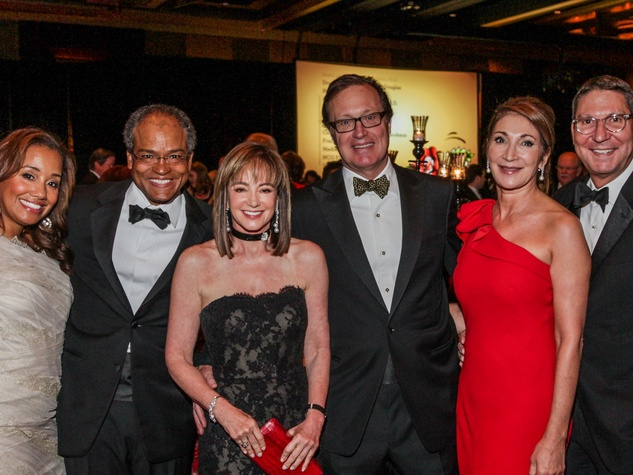Arvia and Jason Few, Janet Gurwitch and Ron Franklin, Soraya and Scott McClelland at the Memorial Hermann Gala April 2014