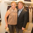 Katherine and Eric Reeves, brunello cucinelli opening highland park village