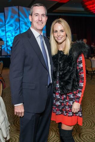 James and Kathleen Jennings at the National Philanthropy Day Awards November 2014