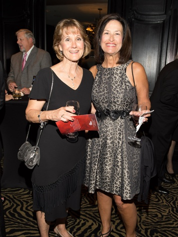 Melanie Fossum, left, and Dot Swanson at Fund for Teachers October 2013