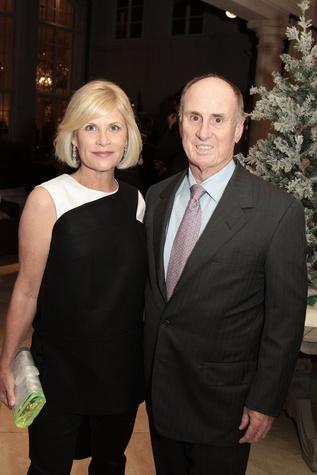 Kelli Blanton and Eddy Scurlock Blanton Sr. at the 9th Annual Santa's Elves Event December 2014