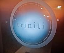 Triniti restaurant, sign