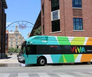 VIA San Antonio bus