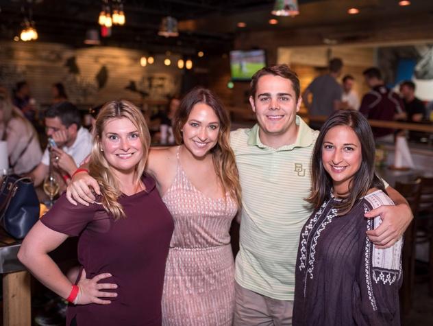 Houston, Homemade Hope BBQ, Beers & Cheers, Nov. 2016, Ari Tafreshi, Jasmine Taillon, Mark Golvach, Lauren Burgess