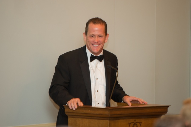 Jamey Rootes at the Alley Theatre Wild Things Dinner October 2014