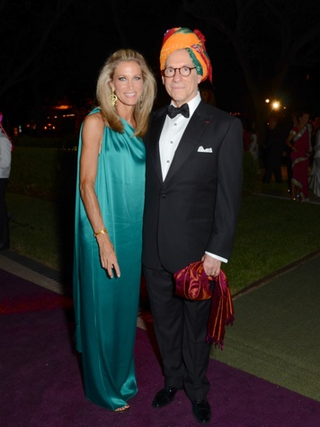 20 Janet Hobby and Gary Tinterow at the Museum of Fine Arts, Houston Ball October 2013