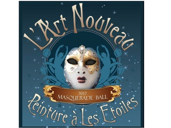 Museum of Cultural Arts Houston&#39;s &quot;LArt Nouveau Masquerade Ball - Peinture a Les Etoiles&quot;