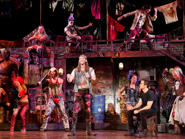 We Will Rock You cast TUTS
