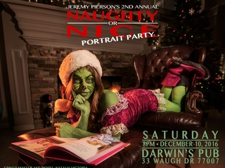 Jeremy Pierson presents Annual Naughty or Nice Portrait Party