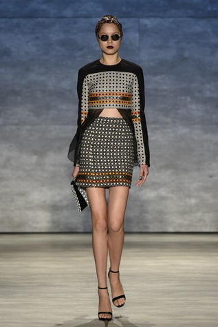 Bibhu Mohapatra spring 2015 collection look 1