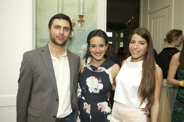 Amir Taghi Fall 2015 James Khreibani, Maryam Afshari, Olivia Reagan