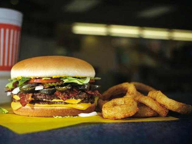Whataburger burger