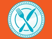 Last Chef Standing fork and knife logo