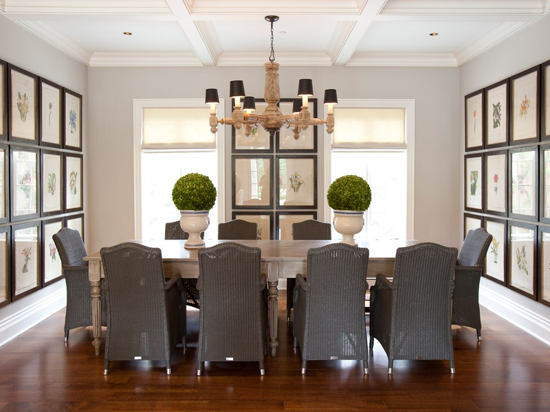 Interior dining room designs
