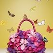 Nancy Gonzalez orchid handbag