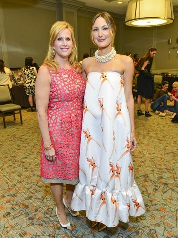 Vanessa Sendukas, Tatiana Massey at the Best Dressed luncheon March 2014