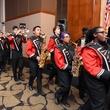 Houston, Beth Yeshurun Day School gala, December 2015, Bellaire High School Marching Band