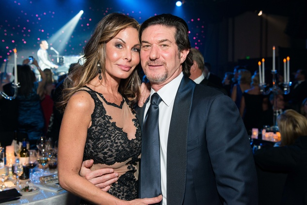 502 Kellie Letsos and Gary Becker at the Houston Children's Charity Gala November 2014