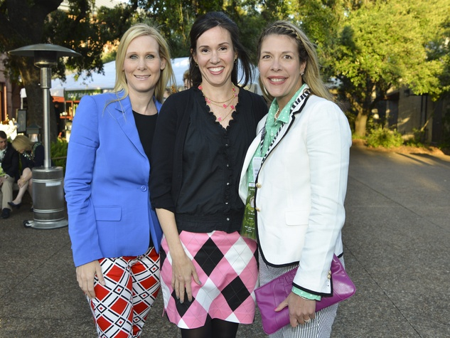 3 Houston Zoo Ball April 2013 Debbie Chenevert, Amy Reeves, Anne Freeman